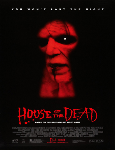 Ver House Of The Dead La Casa Del Espanto 2003 Online