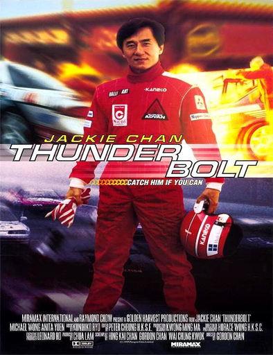 Poster de Jackie Chan, Operación trueno