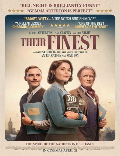 Poster de Their Finest (Su mejor historia)