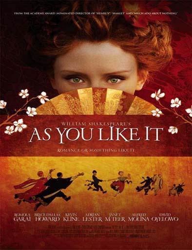 Poster de As You Like It (Como gustéis)