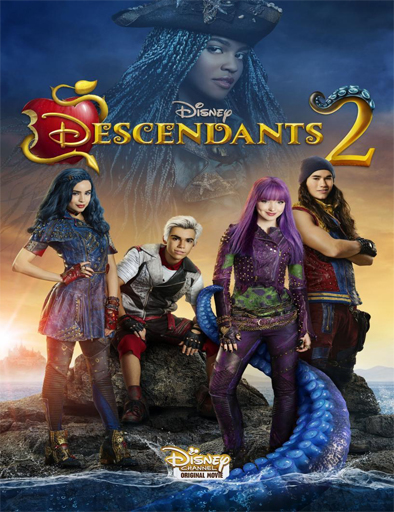 Poster de Descendants 2 (Descendientes 2)