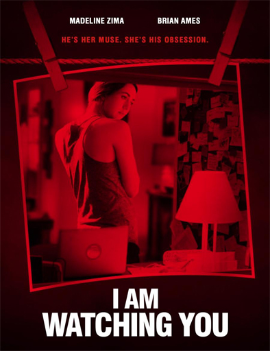 Poster de I Am Watching You (Te vigilo)