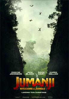 Cartel de Jumanji: En la selva