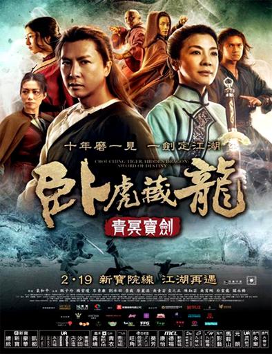 Poster de El tigre y el dragón 2: La espada del destino