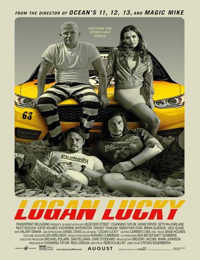 Logan Lucky La suerte de los Logan 2017[BRRip 720p] [SubEsp] [Openload] [1Fichier]