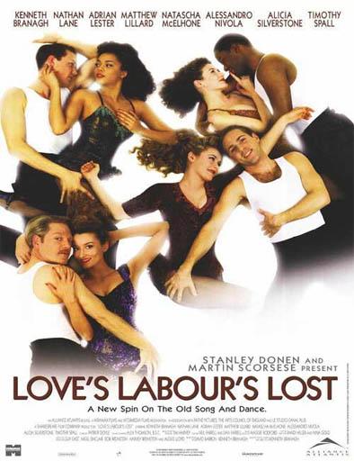 Poster de Trabajos de amor perdidos