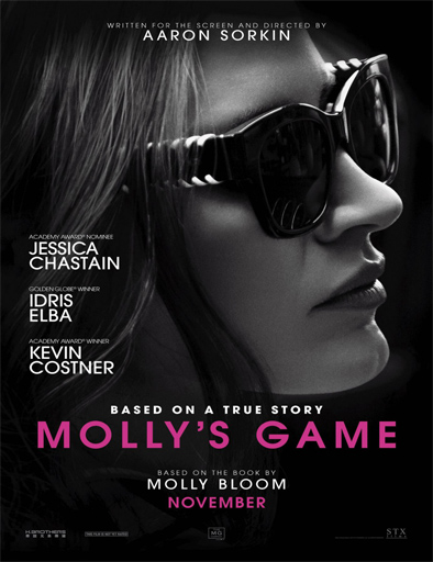 Poster de Molly's Game