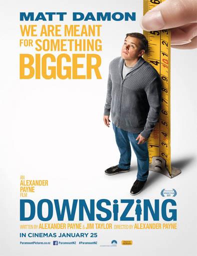 Downsizing (Pequeña gran vida) (2017) [BRRip 720p] [Latino] [1 Link] [MEGA]