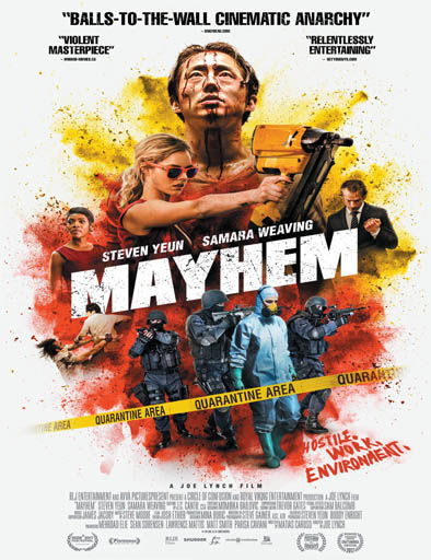 Mayhem (2017) [BRRip 720p] [Latino] [1 Link] [MEGA]