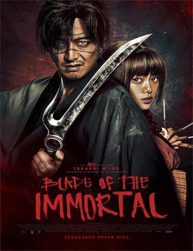 Poster de Mugen no jûnin (La espada del inmortal)