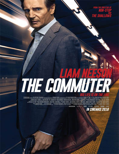 Poster de The Commuter (El pasajero)