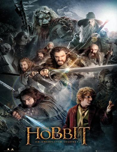 Poster de El Hobbit 1: Un viaje inseperado