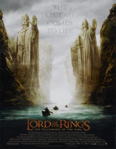 Poster de El señor de los anillos 1: La comunidad del anillo