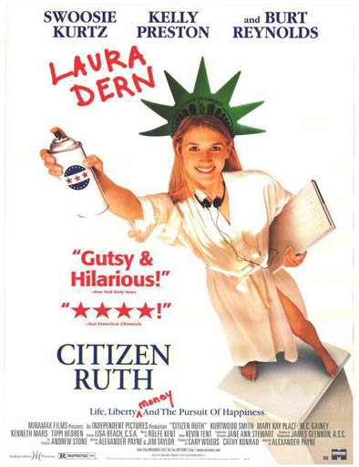 Poster de Citizen Ruth (Ruth, una chica sorprendente)