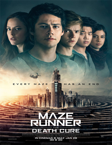 Poster de Maze Runner: La Cura Mortal