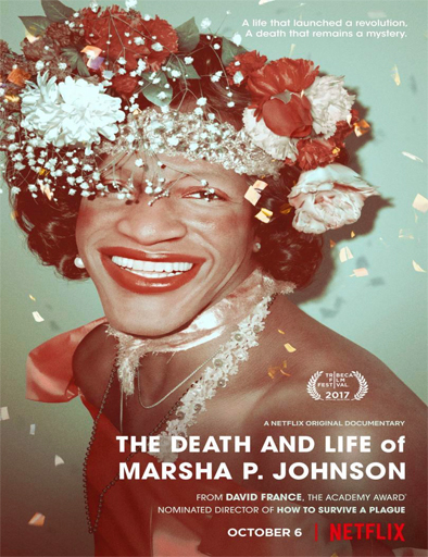 Poster de The Death and Life of Marsha P. Johnson