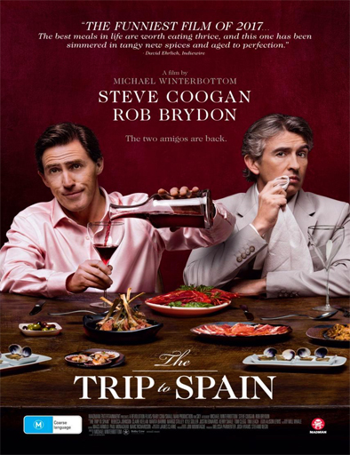 The Trip to Spain (2017) [BRRip 720p] [Latino] [1 Link] [MEGA]