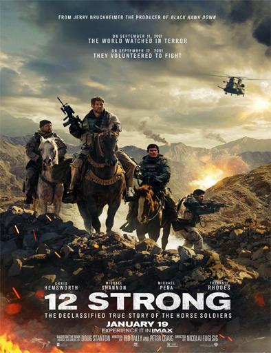 Poster de 12 Strong (Tropa de héroes)