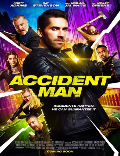 Accident Man (2018) [DVDRIP] [SubEspañol] [1 Link] [MEGA]