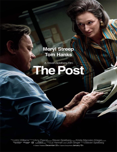 The Post: Los oscuros secretos del Pentágono (2017)[DVDRip] [Latino] [1 Link] [MEGA]