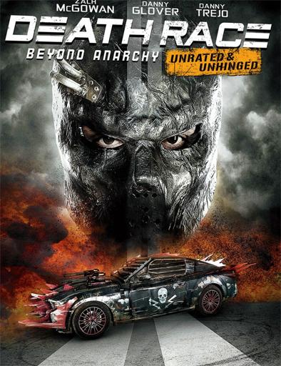 Poster de La Carrera de la Muerte 4