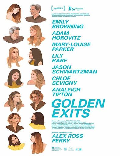 Poster de Golden Exits