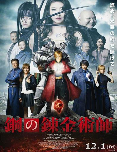 Poster de Fullmetal Alchemist Live-Action