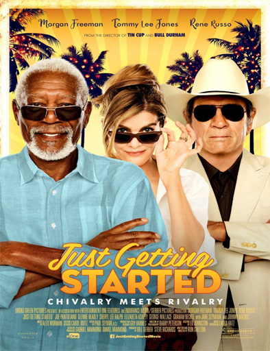Just Getting Started (2017) [BRRip 720p] [Latino] [1 Link] [MEGA]
