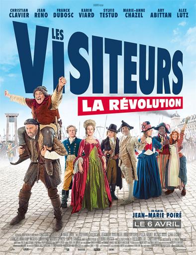 Poster de Los visitantes la lían: ¡En la Revolución Francesa!