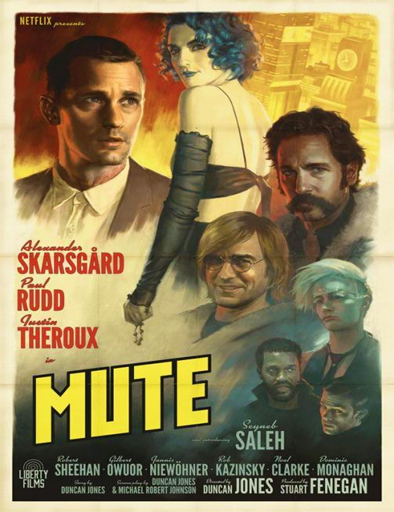 Poster de Mute (Mudo)
