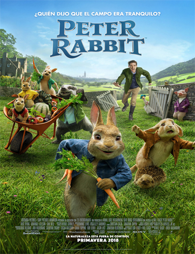 Peter Rabbit (2018) [BRRip 720p] [SubEspañol] [1 Link] [MEGA]