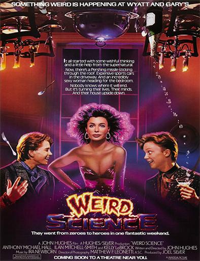 Poster de Weird Science (Ciencia loca)