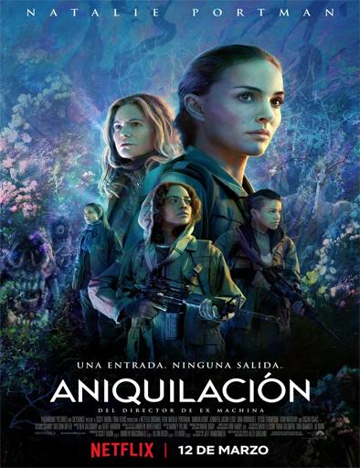 Annihilation (Aniquilación) (2018) [BRRip 720p] [SubEspañol] [1 Link] [MEGA]