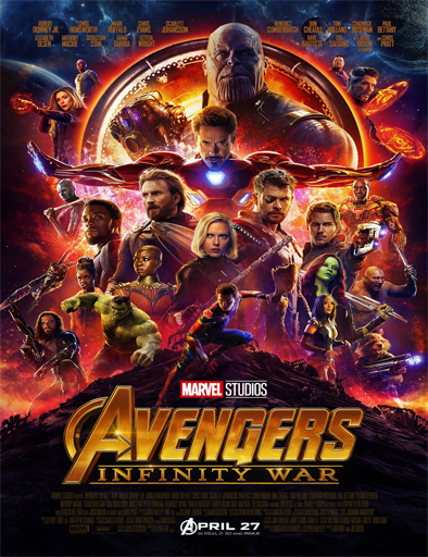 Avengers: Infinity War (2018)[TS/HD] [Latino] [Nueva Version] [MEGA]
