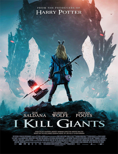 I Kill Giants (2017) [BRRip 720p] [SubEspañol] [1 Link] [MEGA]