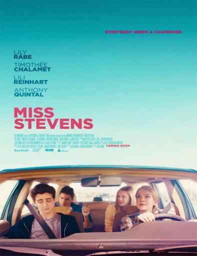 Poster de Miss Stevens