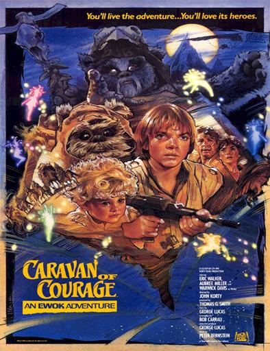 Poster de La aventura de los Ewoks