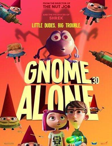 Gnome Alone (Gnomos al ataque) (2017) [CAM] [Latino] [1 Link] [MEGA]