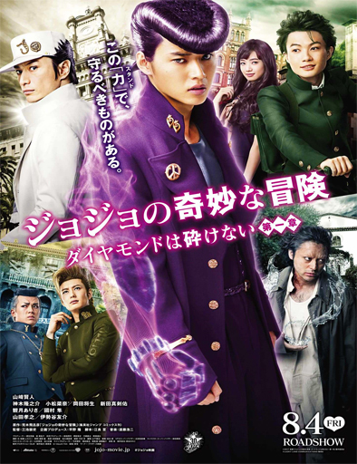 JoJo's Bizarre Adventure: Diamond Is Unbreakable – Chapter 1 (2017) [BRRip 720p] [SubEspañol] [1 Link] [MEGA]