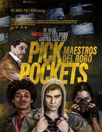 Pickpockets (Carteristas) (2018)  [BRRip 720p] [Latino] [1 Link] [MEGA]