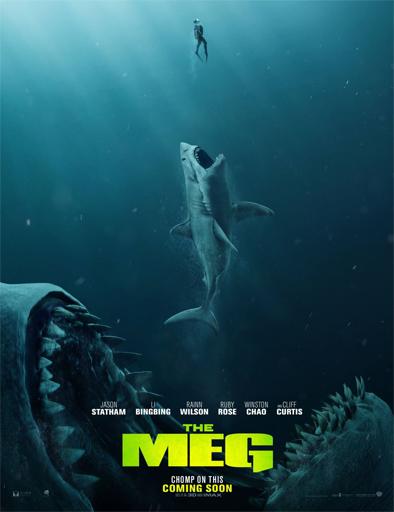 Poster de The Meg (Megalodón)