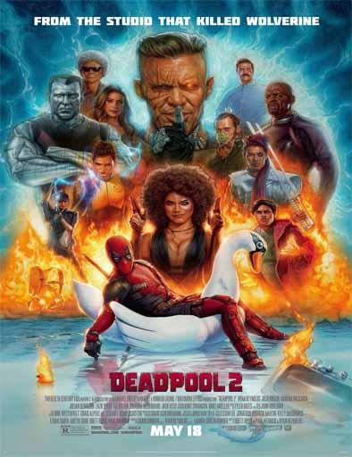 Deadpool 2 (2018)[BRRip 720p] [Latino] [1 Link] [MEGA]