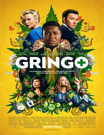 Poster de Gringo (Gringo: Se busca vivo o muerto)