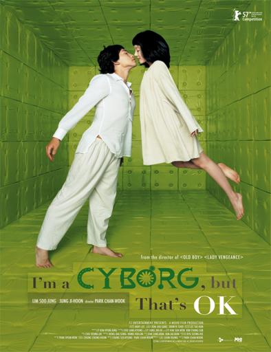 Poster de I'm a Cyborg, But That's OK (Soy un cyborg)