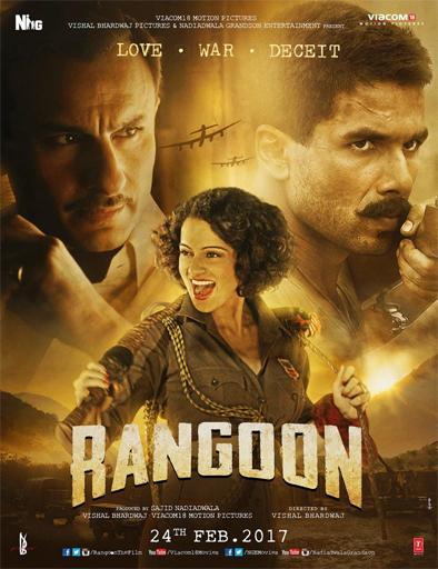Poster de Rangoon