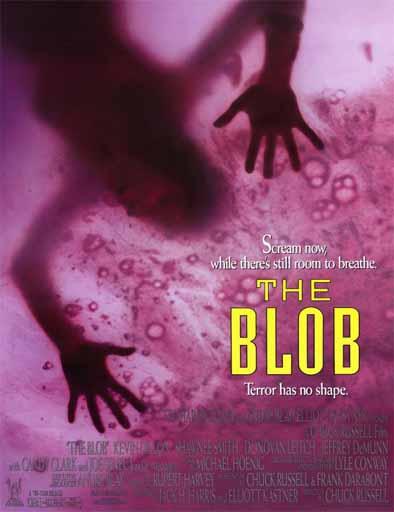 Poster de The Blob (La mancha voraz)