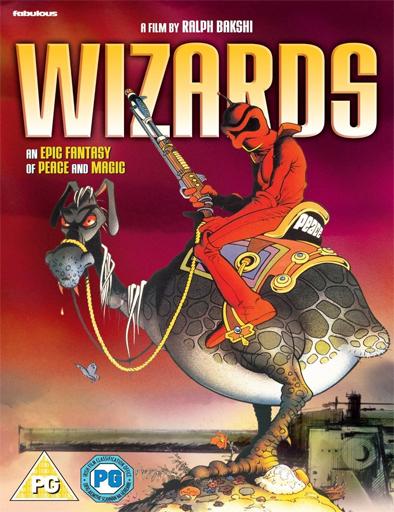 Poster de Wizards (Los hechiceros de la guerra)