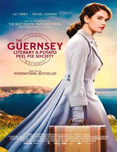 Poster de La sociedad literaria y del pastel de cáscara de papa de Guernsey