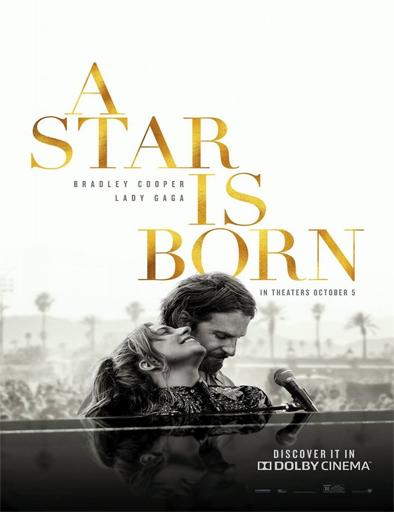 Poster de A Star Is Born (Nace una estrella)