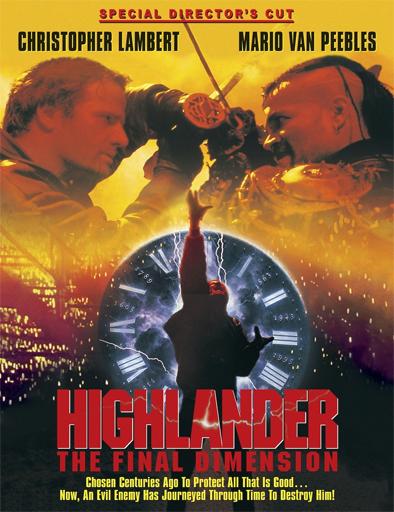 Poster de Highlander 3: El mago